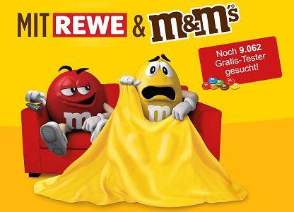 M&M's bei Rewe kaufen, ausprobieren und Geld zurück holen