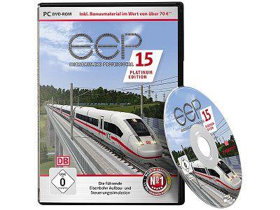Pearl: Eisenbahn PC Simulator, EEP Expert 15 Platinum gratis (statt ca.135 €) + 5,95€ VSK