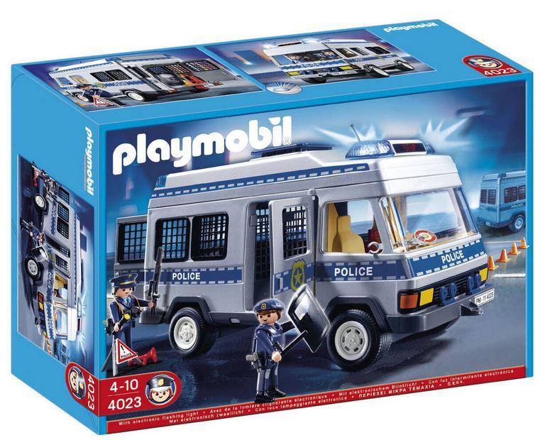 PLAYMOBIL City Action Polizei Mannschaftswagen ab 22,99€ (statt 52€)