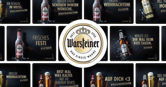 MyPostcard x Warsteiner Weihnachtsgrüße gratis verschicken & Gewinnspielteilnahme