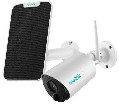 Reolink Argus Eco IP Überwachungskamera mit Solarpanel für 66,59€ (statt 85€)