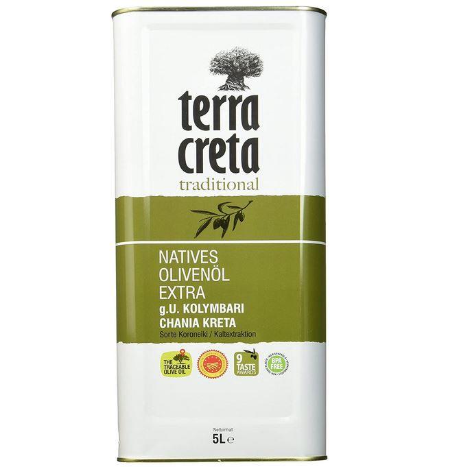 Wieder da! Terra Creta Extra Natives Olivenöl 5l ab 27,54€ (statt 39€)