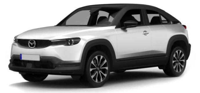 Gewerbe: Mazda MX 30 Elektro mit 145 PS für 89€mtl. netto   LF: 0.30
