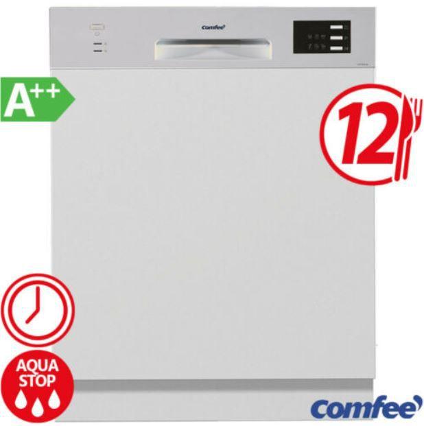 Comfee CGT 612 di    teilintegrierte Geschirrspülmaschine A++ für 259,99€ (statt 299€)