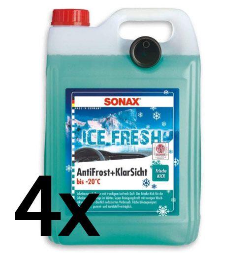 4x 5L SONAX AntiFrost&KlarSicht oder SONAX Antifrost&KlarSicht  IceFresh ab 27,99€ (statt 40€)