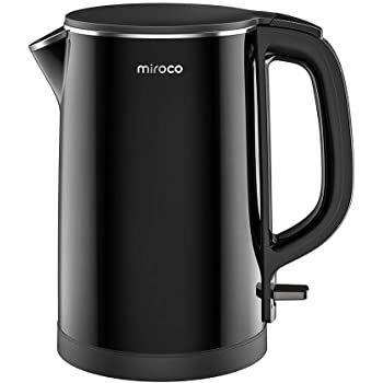 Miroco Wasserkocher (1,5L) aus Edelstahl mit 2150W für 23,99€ (statt 36€)