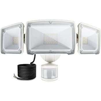 Lureshine 40W LED Außenstrahler mit 3 Spots & Bewegungsmelder für 41,99€ (statt 70€)