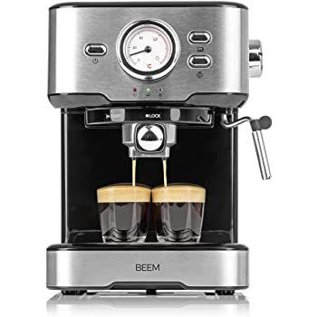 BEEM Siebträgermaschine Espresso Select mit 15 bar für 109,90€ (statt 120€)