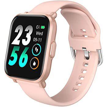 HolyHigh CS201 Smartwatch mit 1,3 Zoll Farb Touchscreen, Herzfrequenz  & Blutsauerstoffmesser für 19,99€ (statt 46€)