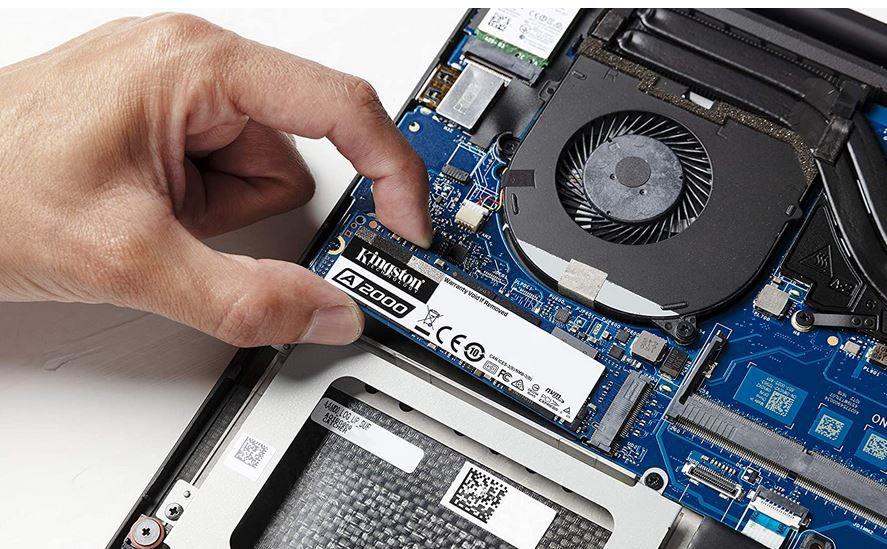 Kingston A2000 1 TB NVMe PCIe SSD M.2 für 76,90€(statt 90€)