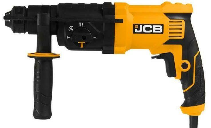 JCB Bohr  und Meißelhammer SDS Plus mit 850W im Handwerkerkoffer für 69,90€ (statt 80€)