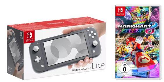 Nintendo Switch Lite inklusive Mario Kart 8 Deluxe ab 219€ (statt 239€)