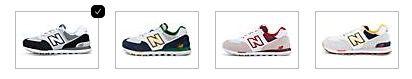 New Balance 574 Herren Retro Sneakers z.B. in Mittelgrau für 54,97€ (statt 65€)