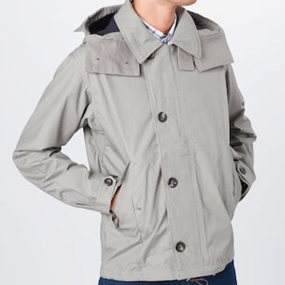 Tommy Hilfiger Icons Jacke in Grau für 99€ (statt 195€)