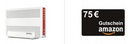 Vodafone Red Internet & Phone 1000 Cable für effektiv 38,32€ mtl. + 75€ Amazon Gutschein + Fritzbox 6591