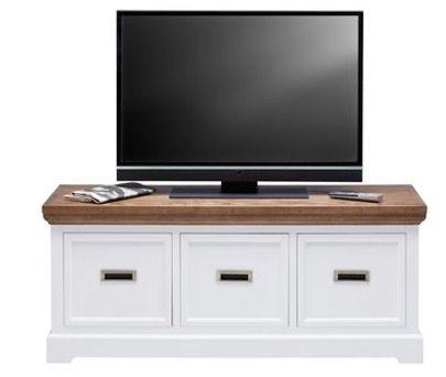 Bessagi TV Element in Eschefarben Weiß Melanie für 90,30€ (statt 169€)