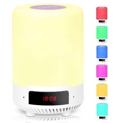 RUMIA LED Nachtlicht mit Bluetooth Lautsprecher und 1200mAh Akku für 14,49€ (statt 29€)