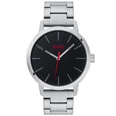 HUGO BOSS Herren Uhr Stand HU1530140 42mm aus Edelstahl für 99,51€ (statt 122€)