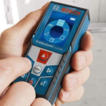 Bosch GLM 500 Professional Laser Entfernungsmesser für 78,60€ (statt 87€)
