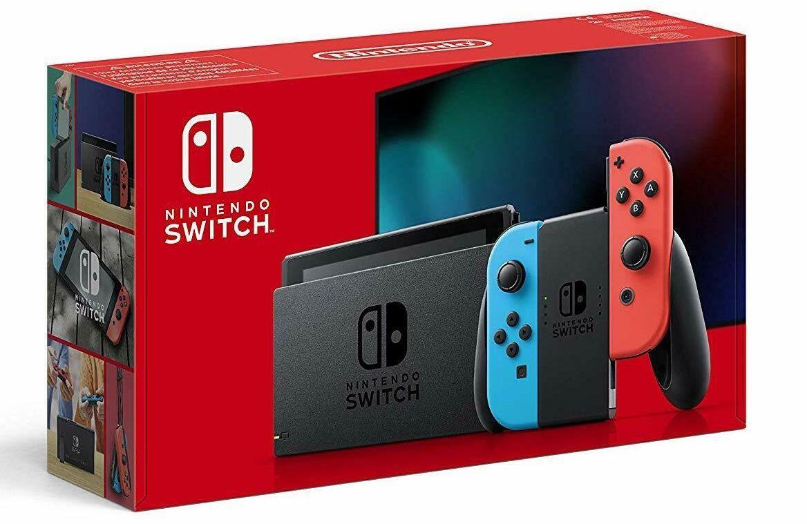 Nintendo Switch mit Joy Cons für 299,86€ (statt 339€)