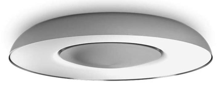 Philips Hue White & Ambiance Still Aluminium Deckenleuchte mit Bluetooth + Bridge + Dimmschalter für 146,73€ (statt 178€)