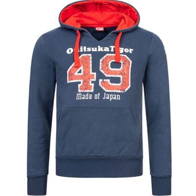 Asics Onitsuka Tiger Hoodie Herren Kapuzen Sweatshirt in 3 Farben für 26,94€ (statt 40€)