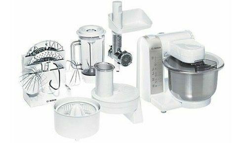 Bosch Küchenmaschine MUM4880 (600W mit 3,9 Liter Rührschüssel) und Zubehör für 131,98€ (statt 156€)
