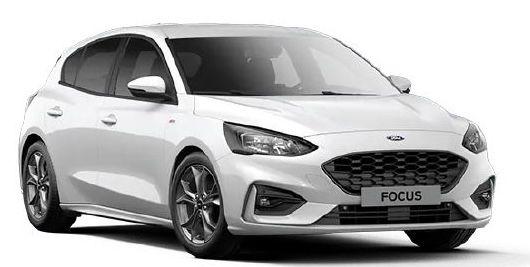 Ford Focus ST Line Hybrid 1.0 EcoBoost mit 155 PS für 149€ mtl.   LF: 0.54
