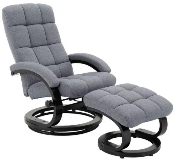 Relaxsessel mit Drehgestell inkl. Hocker für 133,95€