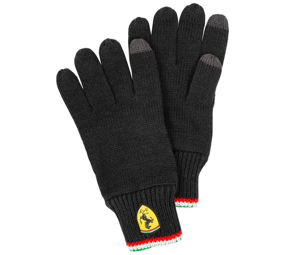 Scuderia Ferrari Touchscreens-Strickhandschuhe für 9,94€ (statt 18€)