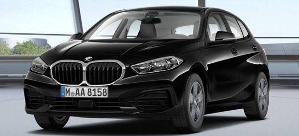 Privat: BMW 116i mit 109PS in Schwarz mit Ganzjahresreifen & Haustürlieferung für 189€ mtl.   LF 0,76