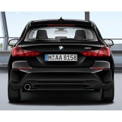 Privat: BMW 116i mit 109PS in Schwarz für 145€ mtl. – LF 0,64
