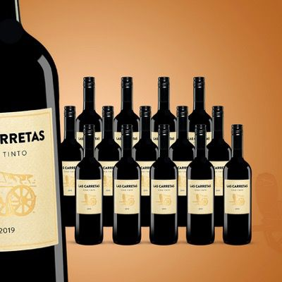 15x Las Carretas 2019 Berliner Wein Trophy goldprämiert ab 40,89€ (statt 75€)