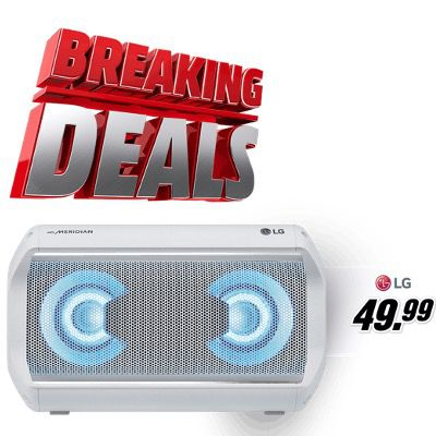 MediaMarkt Breaking Deals – z.B. LG XBOOM Go für 49,99€ (statt 117€)