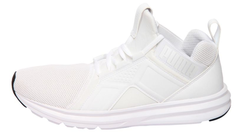 Puma Enzo Mesh Herren Laufschuh in Weiß für je 34,95€ (statt 48€)