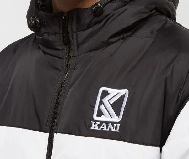 Karl Kani OG Hooded Block Puffer Jacke für 51€ (statt 66€)