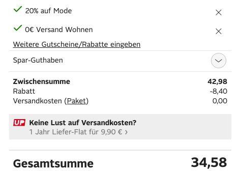 20% Rabatt auf Mode bei Otto + nur 0,99€ VSK   z.B. Nike Court Royale 2 Suede Damen Veloursleder Sneaker für 34,58€ (statt 49€)