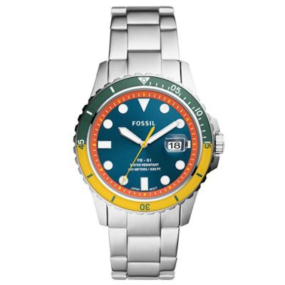 Fossil FB-01 3 Zeiger Herren-Uhr FS5765 für 44,80€ (statt 137€)