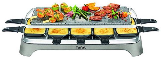 Tefal PR457B Pierrade Raclette mit 1350 Watt und Steinplatte für 66,11€ (statt 86€)