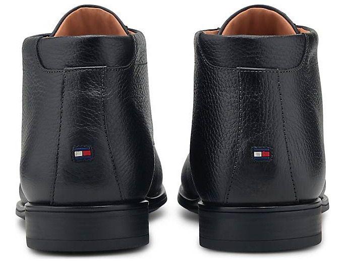 Tommy Hilfiger Schnür Boots Technical Comfort in Schwarz für 76,30€ (statt 124€)