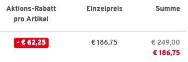 Otto Kern Herren Lederjacke aus Lammnappa in Schwarz für 186,75€ (statt 249€)