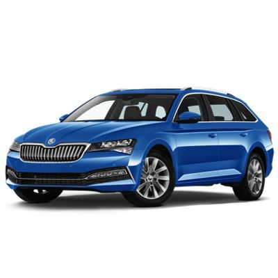 Privat: Skoda Octavia Ambition Combi iV 1.4 in Energy-Blau mit 204PS für 136€ mtl. – LF 0.36