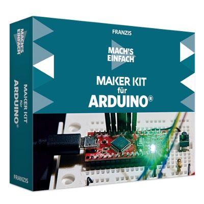 Franzis Maker Kit für Arduino Mach's einfach für 29,95€ (statt 62€)