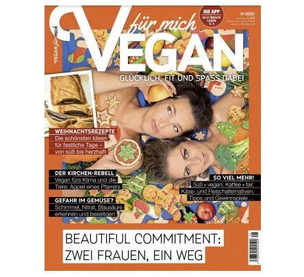 """GRATIS! 3 Ausgaben """"Vegan"""" komplett ohne Prämie"""