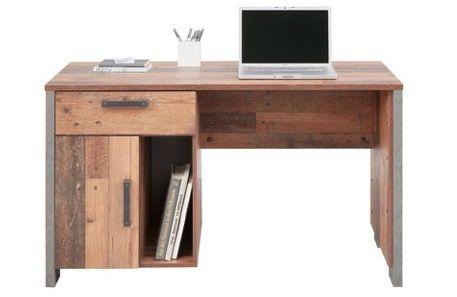 Premium Living Schreibtisch in Braun für 111,30€ (statt 189€)