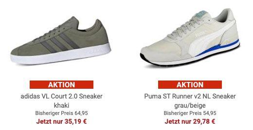 Gebrüder Götz: ausgewählte Schuhe zum halben Preis   z.B. adidas Crazychaos Sneaker für 40,61€