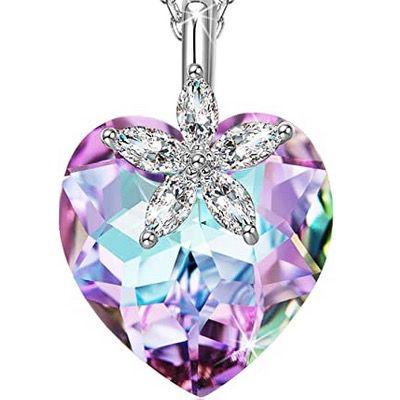 Alex Perry Halskette Schönes Leben 925er Sterling Silber und Swarovski-Kristall für 12,99€ (statt 50€)