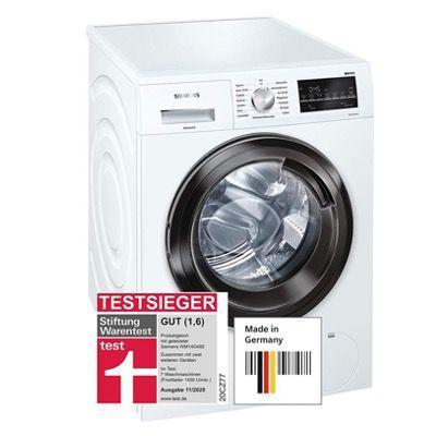 Siemens WM14G400 iQ500 Waschmaschine 8kg / A+++ mit 1400 U/min für 484,20€ (statt 599€)