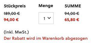 FOSSIL Herren Chronograph Brox BQ2558 mit Multifunktionsanzeige in Blau für 65,80€ (statt 183€)