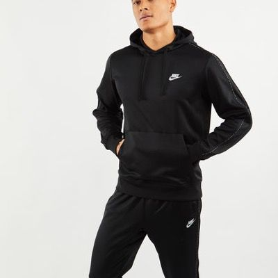 Nike Repeat Poly Over The Head Herren Hoodie in schwarz für 29,99€ (statt 50€)
